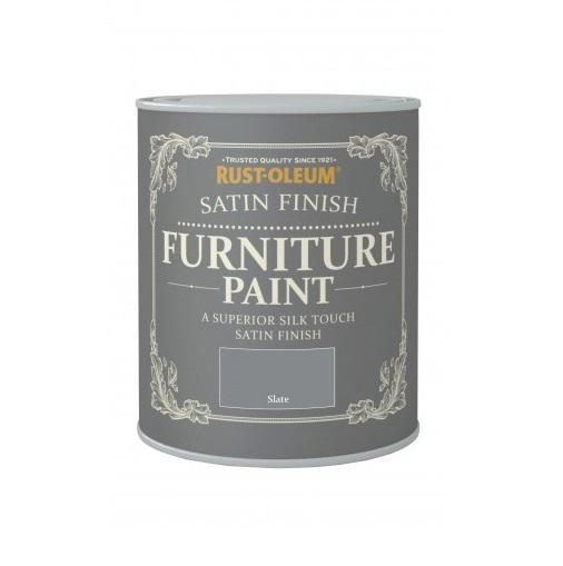 Rust-Oleum Satin Furniture Paint 750ml / 125ml Chic Shabby ...