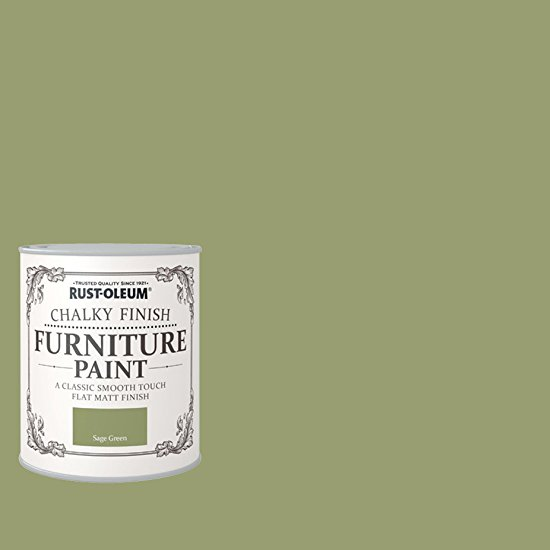 rust oleum ro0070010x1 chalk furniture paint sage green 125ml ebay