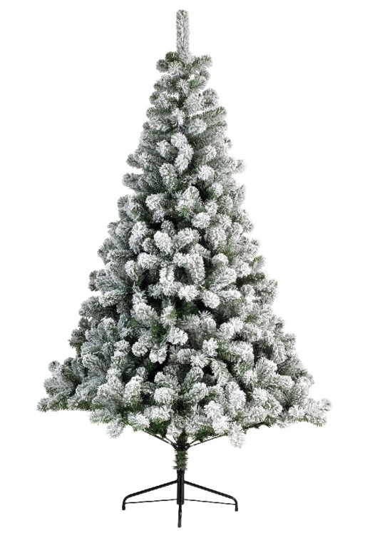 Artificial Christmas Tree Sizes.Details About Snowy Imperial Pine White Green Fir Artificial Christmas Xmas Tree 5 Sizes