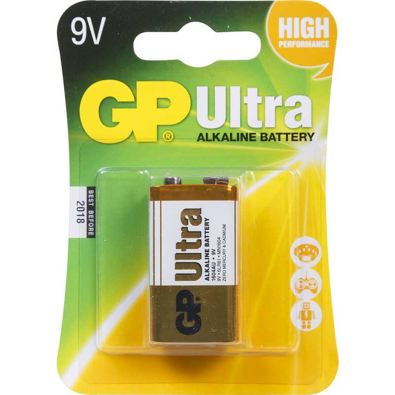 Gp Ultra Battery 9v 1pk