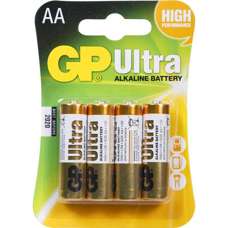 Gp Ultra Battery Aa 4pk