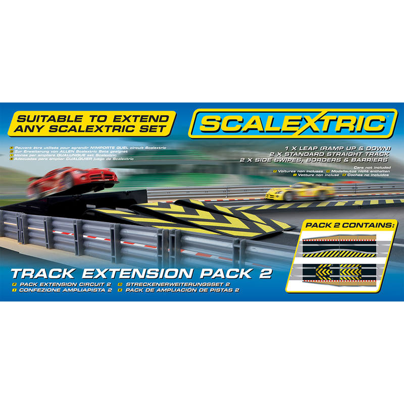 Scalextric C8511 Track Extension Pack 2   Leap