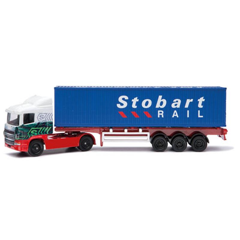 Corgi TY86650 Eddie Stobart Rail Container