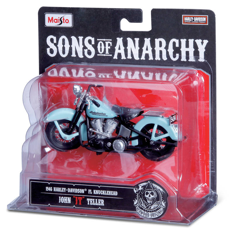1:18 Harley Davidson Sons Of Anarchy