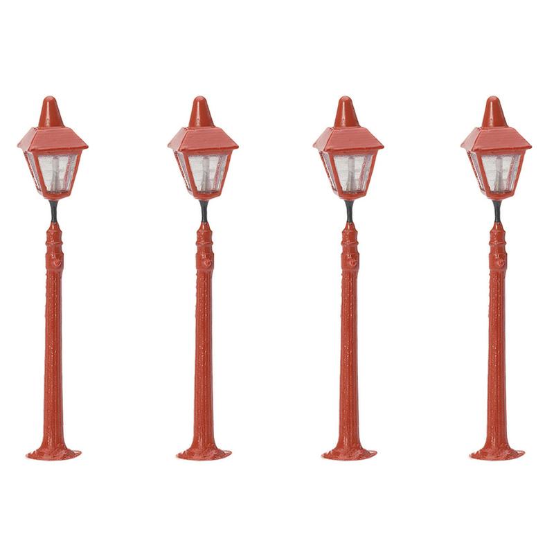Hornby R8673 Station Platform Lamps (Pack Of 4)