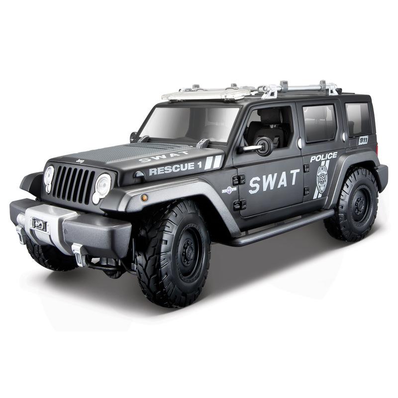 1:18 Jeep Rescue Concept-Police Swat Verison
