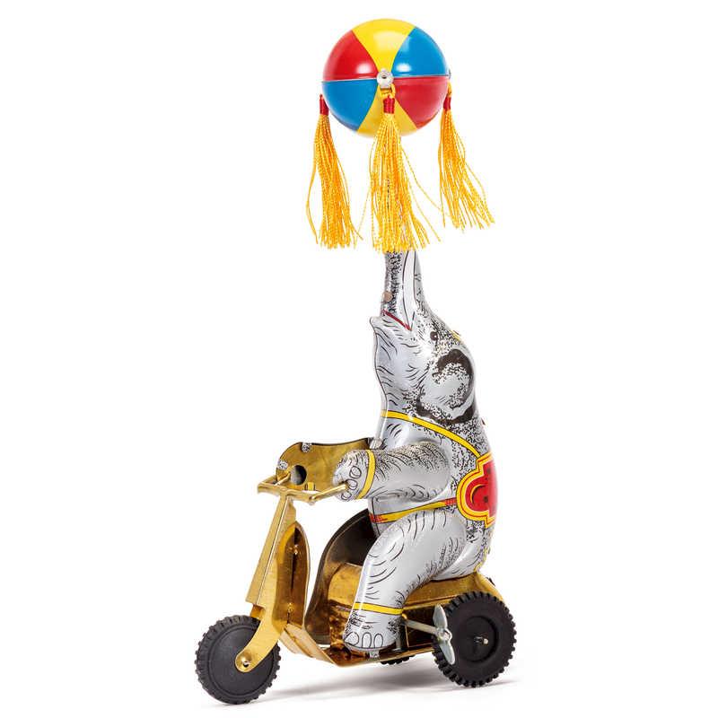 Elephant On Bike