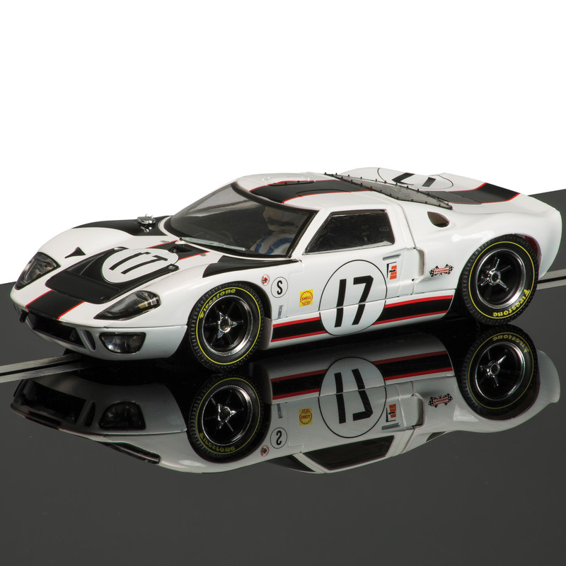 Scalextric C3653 Ford GT40 White