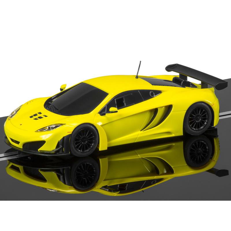 Scalextric C3662 McLaren 12C GT3 Yellow