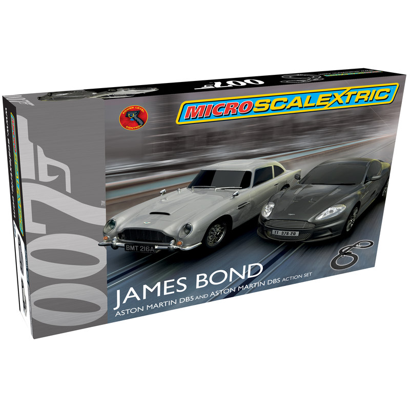 Micro Scalextric G1122 James Bond Set