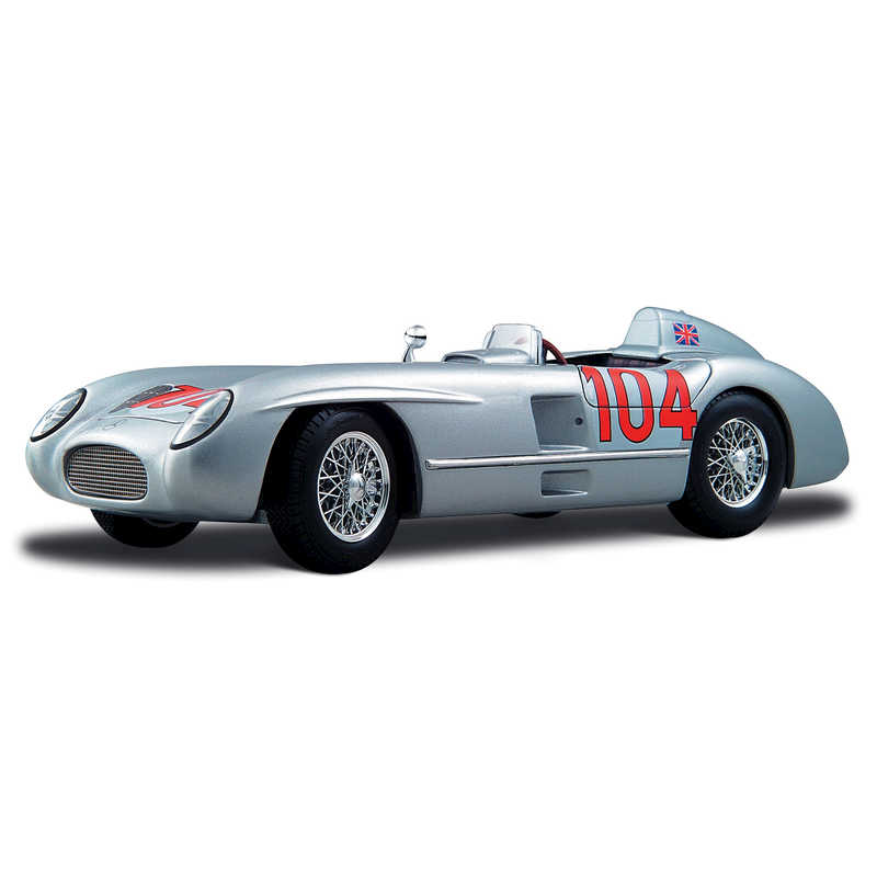 1:18 1955 Stirling Moss Mercedes-Benz 300 Slr Targa Florio