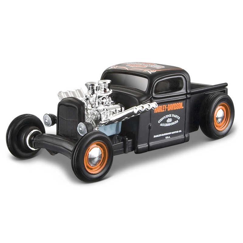 1:64 Harley Davidson Custom Cars   12 Pc Dispenser