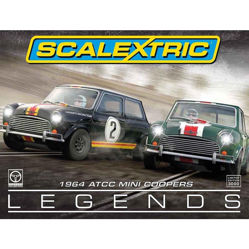 Scalextric C3586A 1964 ATCC Mini Coopers