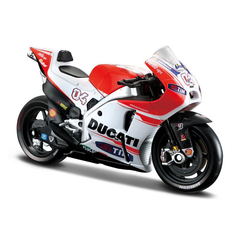 1:18 2015 Ducati Desmosedici - 2015 Season (#04 Andrea Dovizioso)