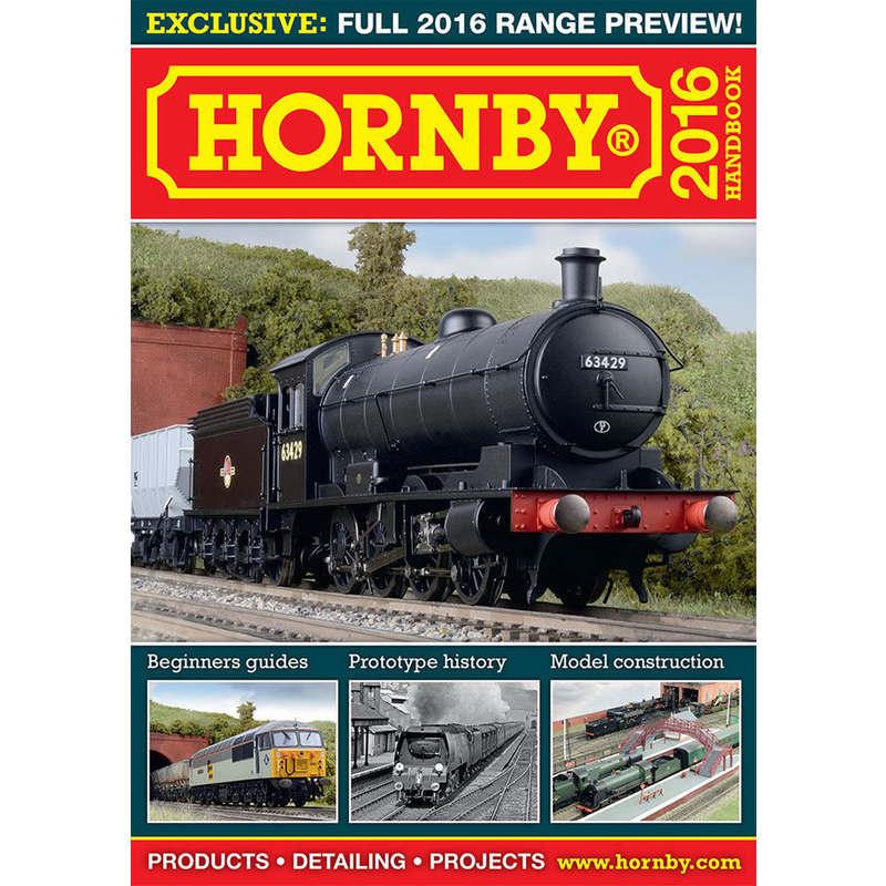 Hornby R8153 Hornby 2016 Hand Book
