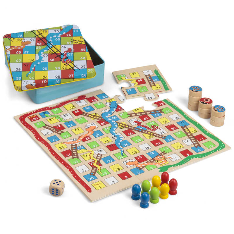 Snake And Ladders And Tic Tac Toe