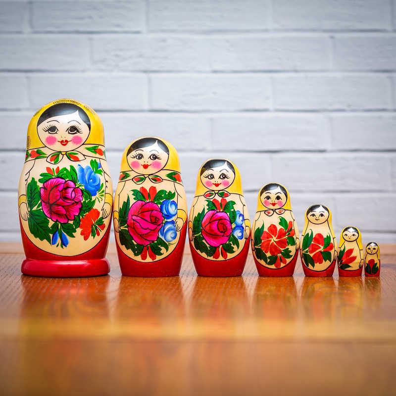 Russian Dolls 7 Nest