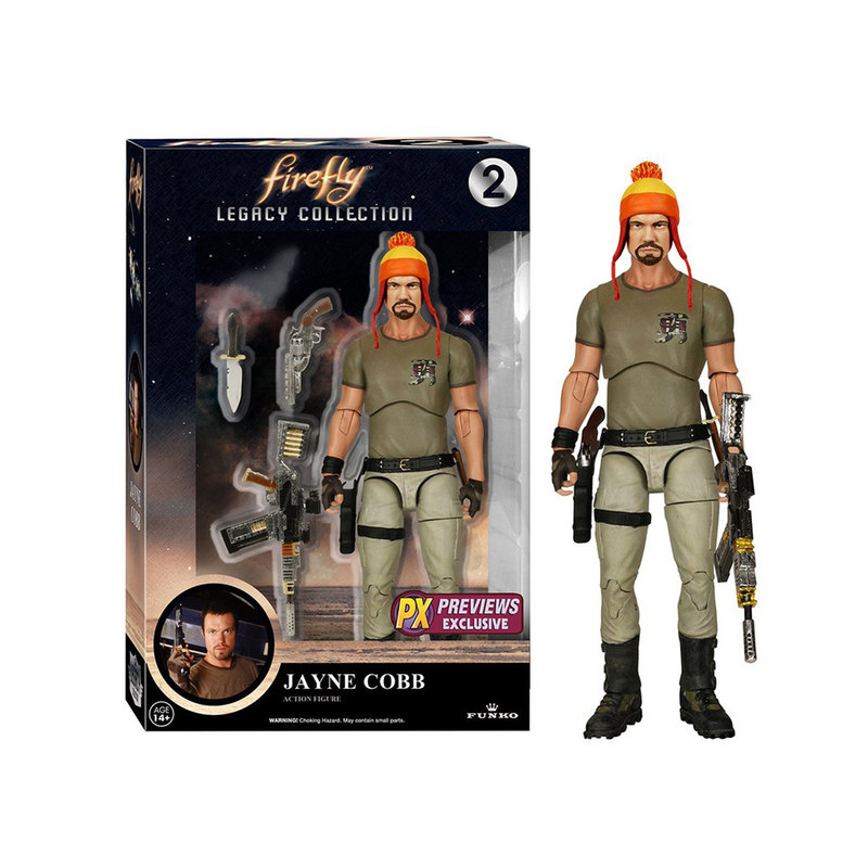Legacy Action Firefly Jayne Cobb W/Hat (Exc)