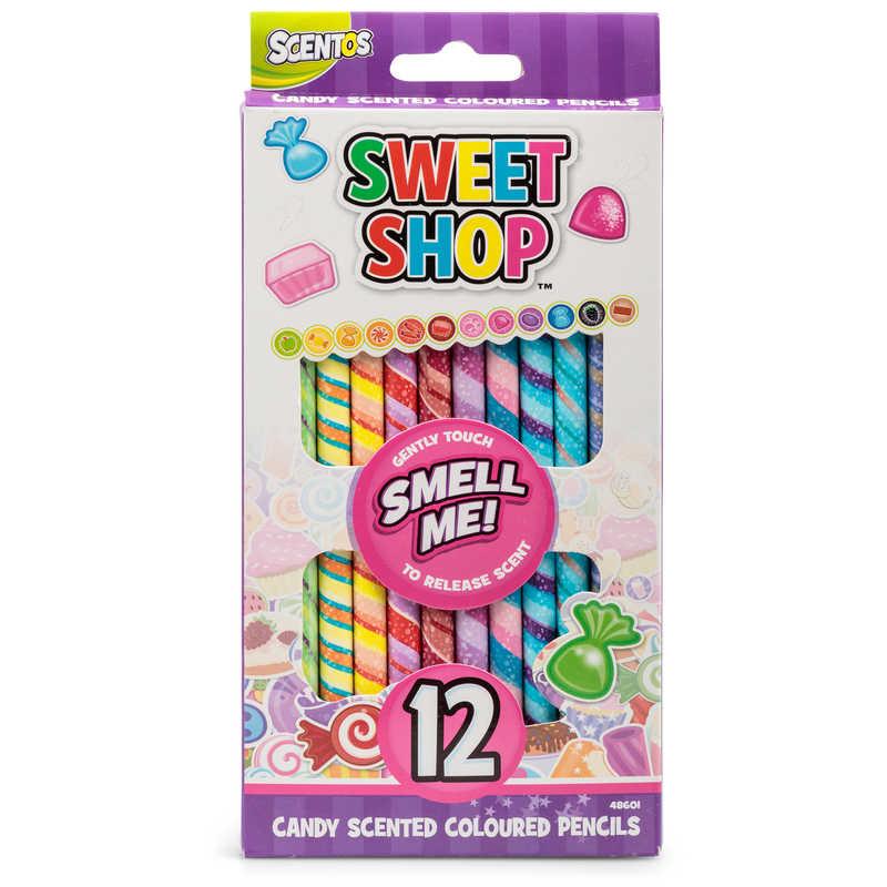 Scentos Sweet Shop 12pk Coloured Pencils