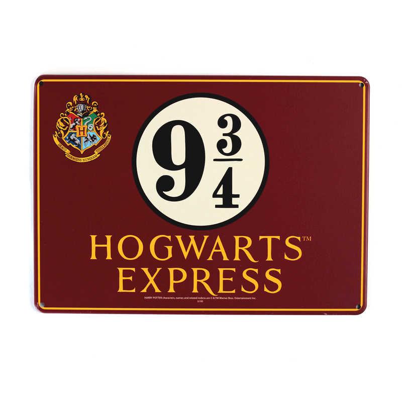 Harry Potter Hogwarts Express Tin Sign