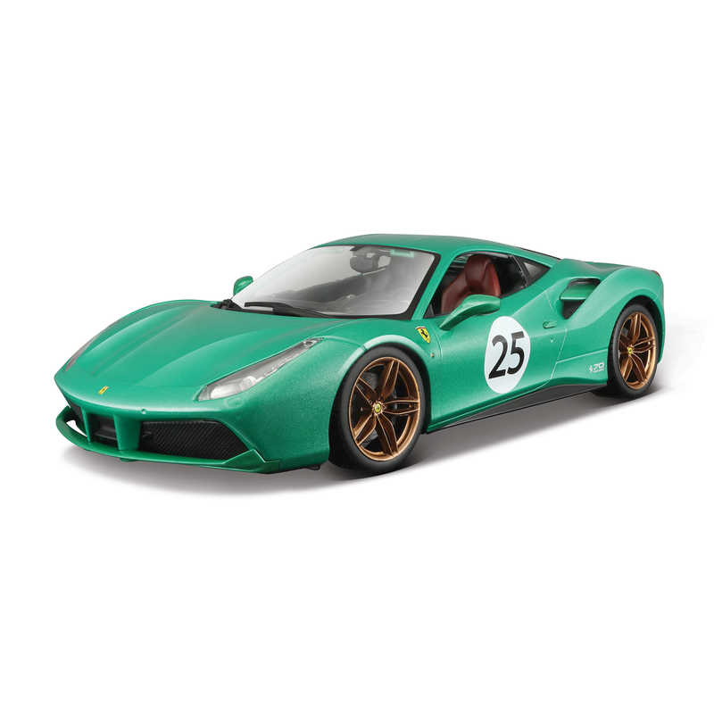 1:18 70th Anniversary 488 Gtb - The Green Jewel