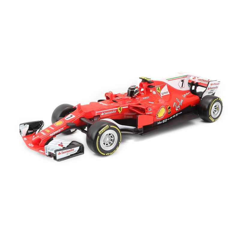 1:24 Rc Ferrari- 2017 Season (#7 Raikkonen)