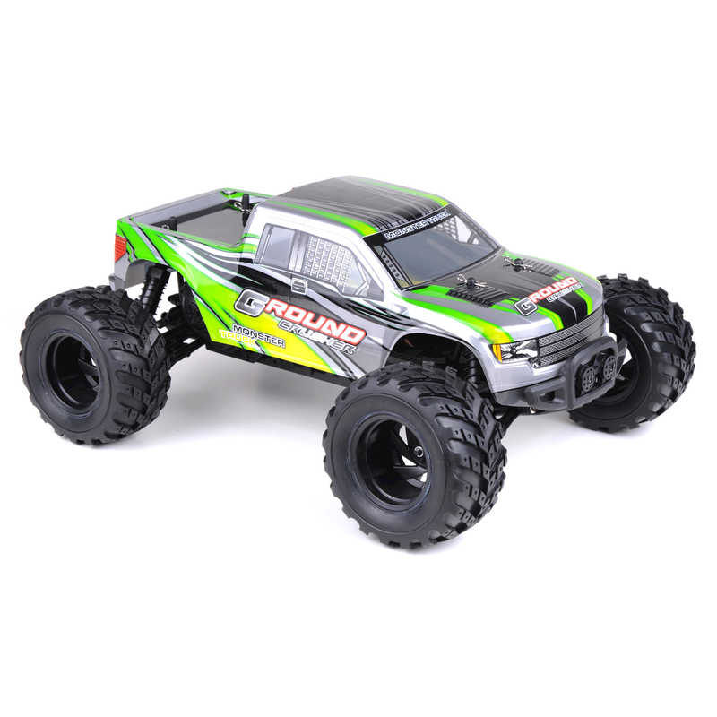 Rc Ground Crusher Monster Truck Green