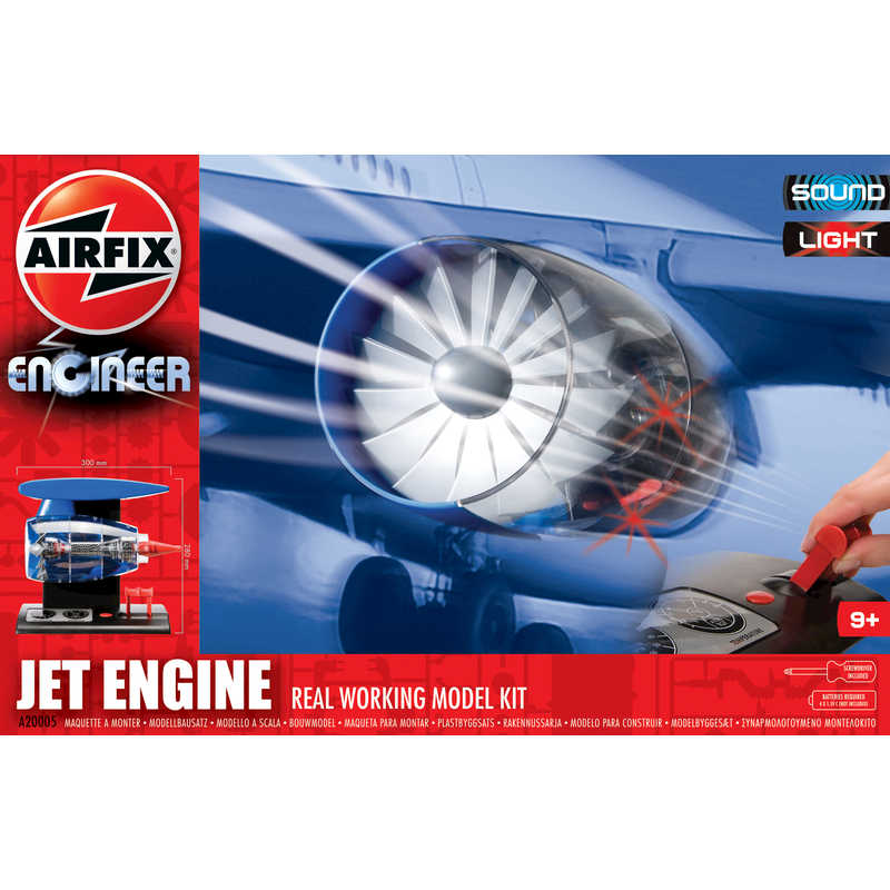 Airfix Engineer Jet Engine