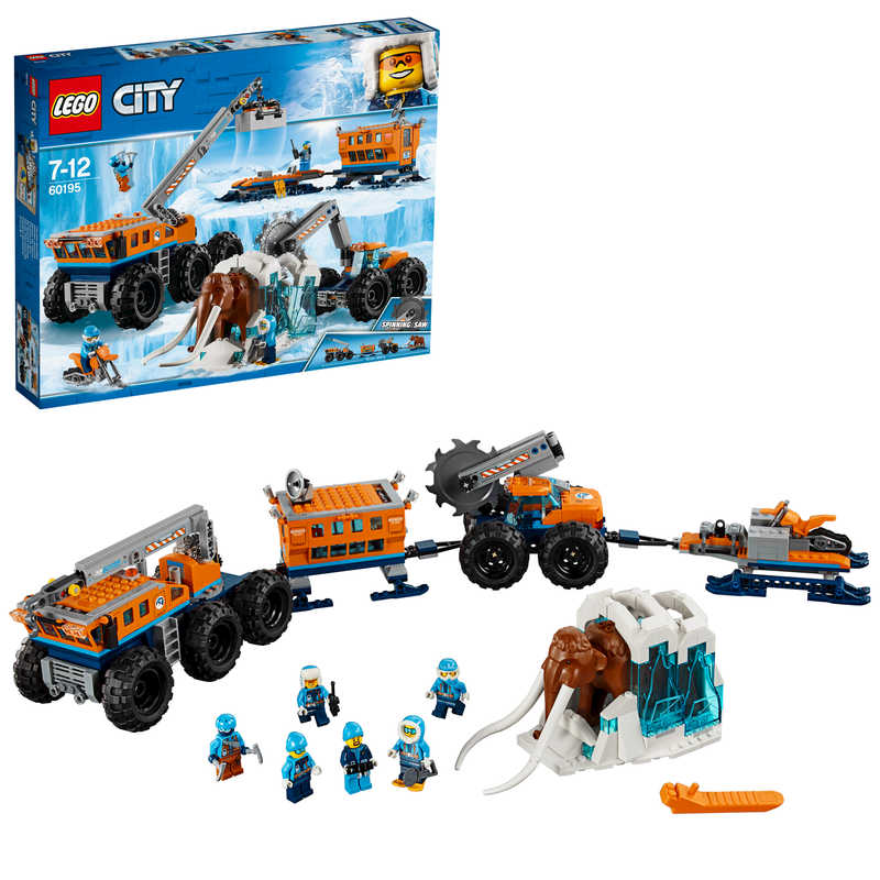 LEGO City Artic Expedition Mobile Exploration Base - 60195