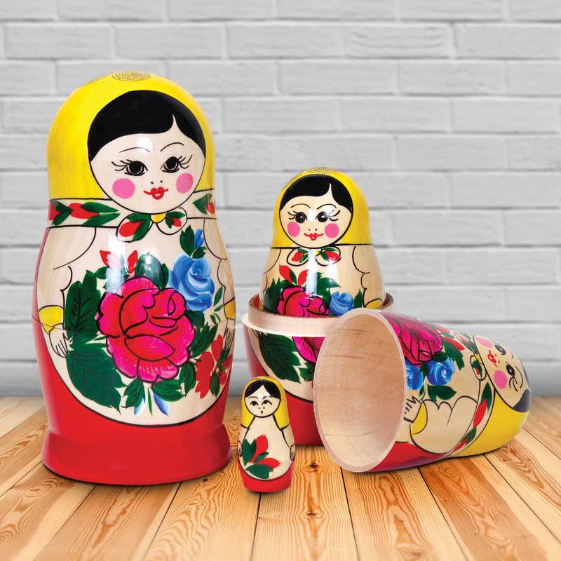 Russian Dolls 5 Nest