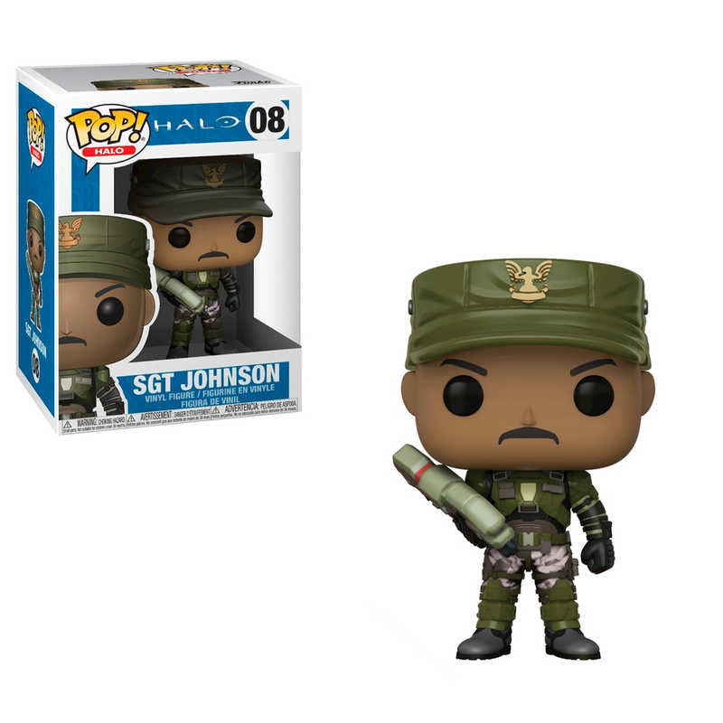 Pop! Vinyl: Halo - Sgt. Johnson (with Chase)