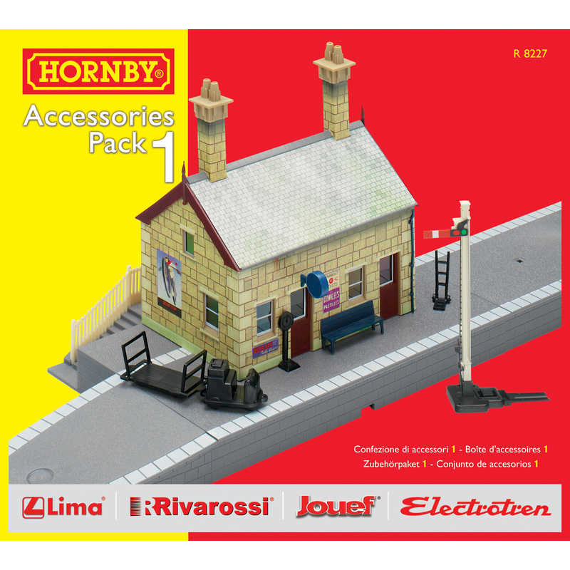 Hornby R8227 Track Mat Accessories Pack 1