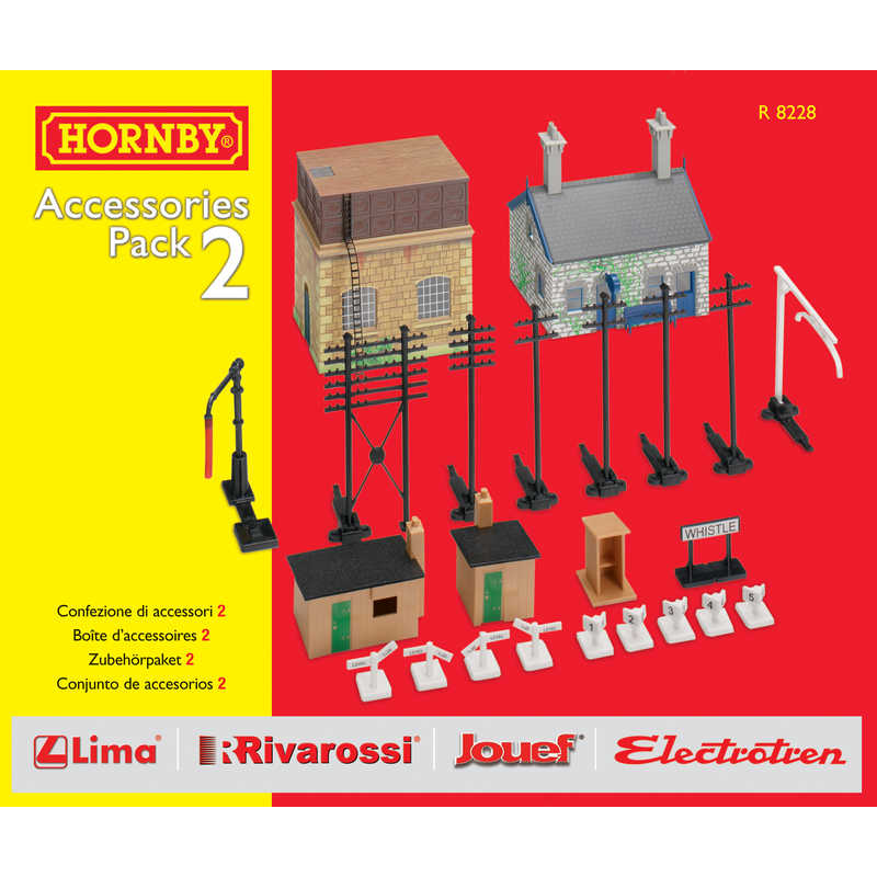 Hornby R8228 Track Mat Accessories Pack 2