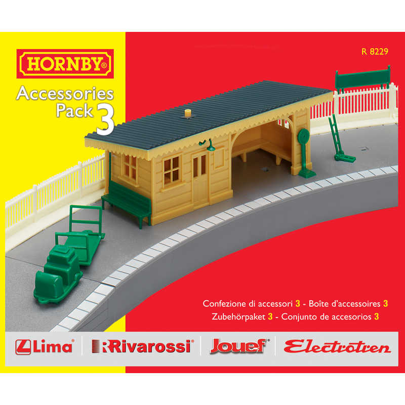 Hornby R8229 Track Mat Accessories Pack 3