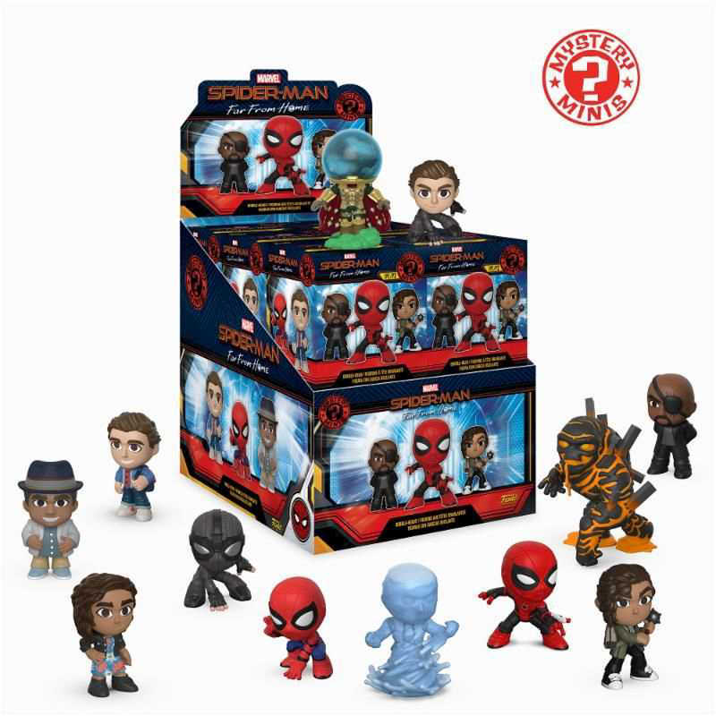 Funko Mystery Minis: Spider-Man Far from Home