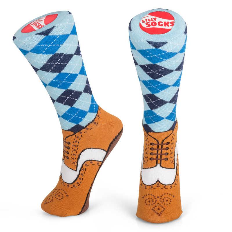 Silly Socks - Brogue (Size 5-11)