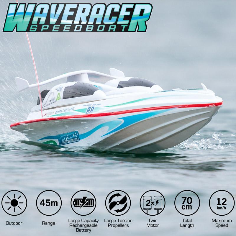 Wave Racer Speedboat