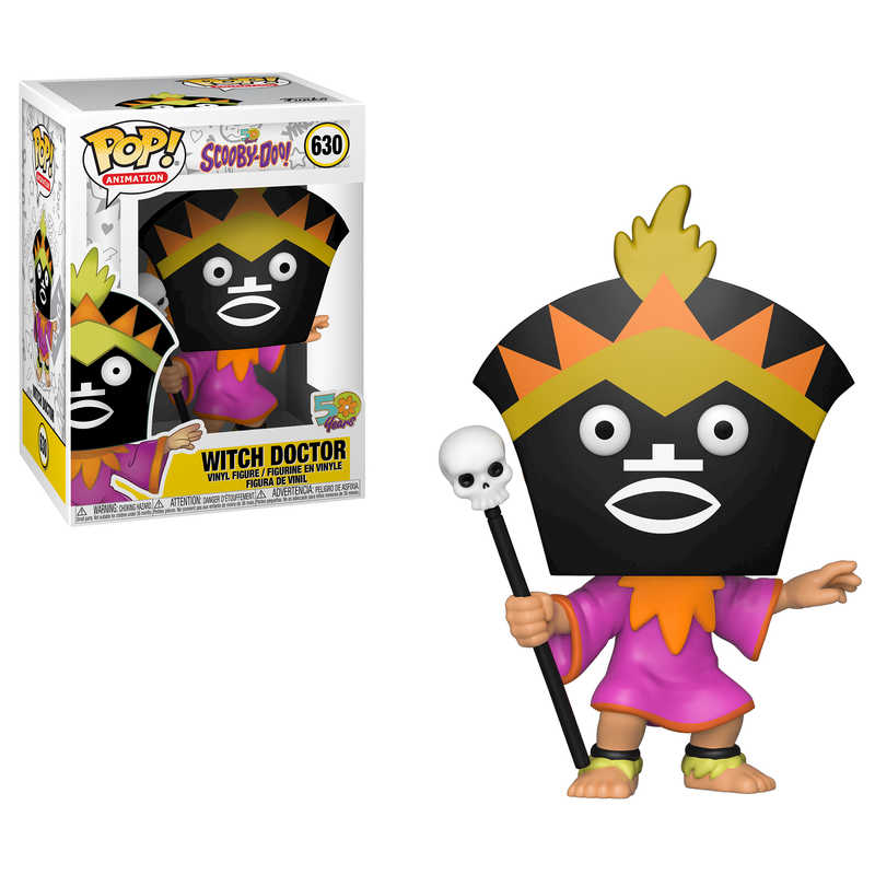 Pop! Vinyl: Scooby Doo   Witch Doctor
