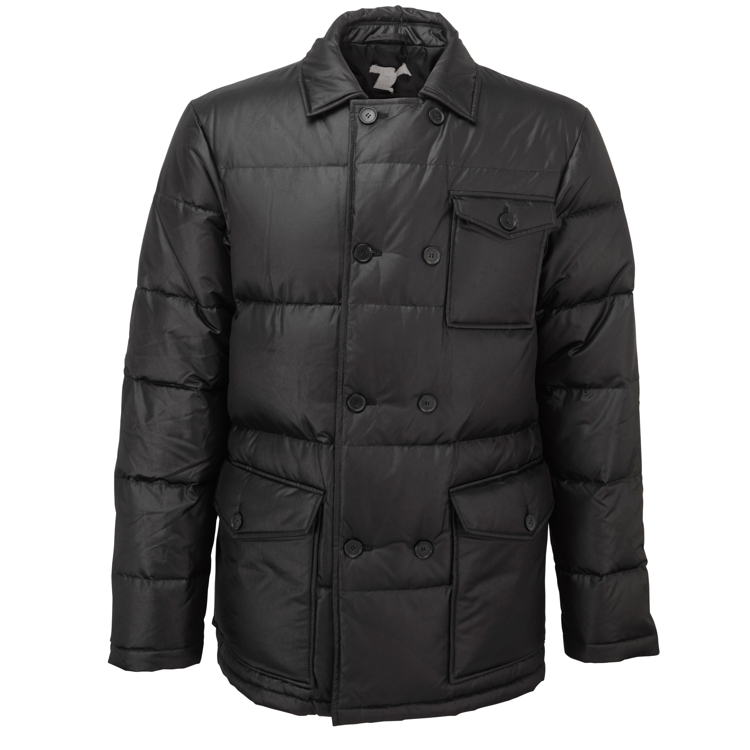 adidas SLVR Mens Full Zip Down Filled Quilted Coat Winter