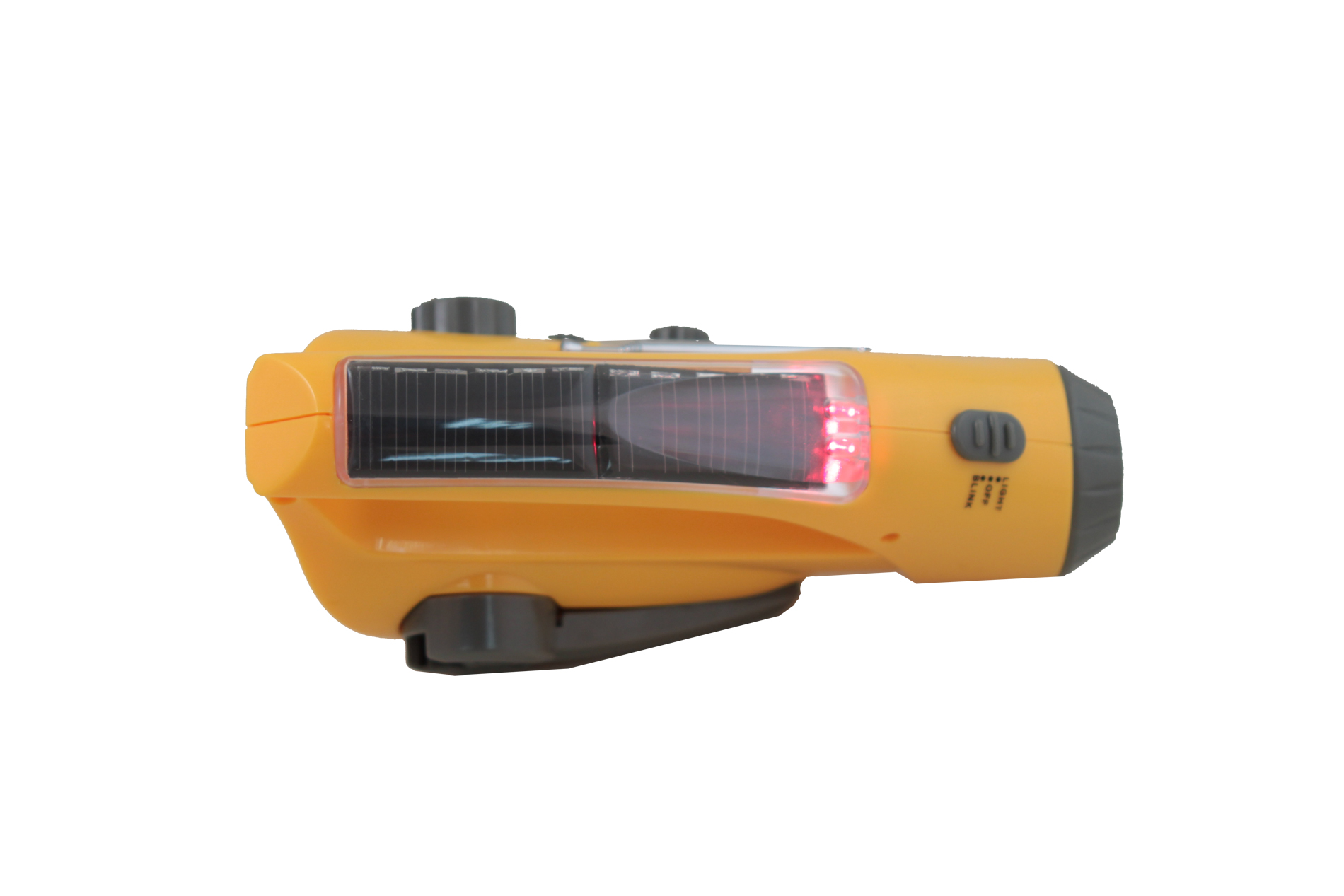 Wind-Up-Dynamo-Solar-Flashlight-Charger-FM-Radio thumbnail 6