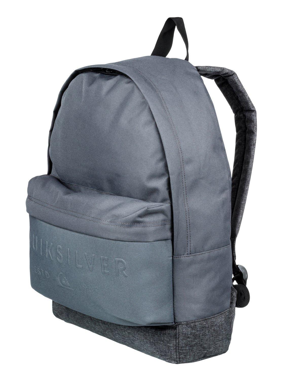 3d4e683e6b Quiksilver Everyday Poster Embossed 25L - Medium Backpack for Men ...