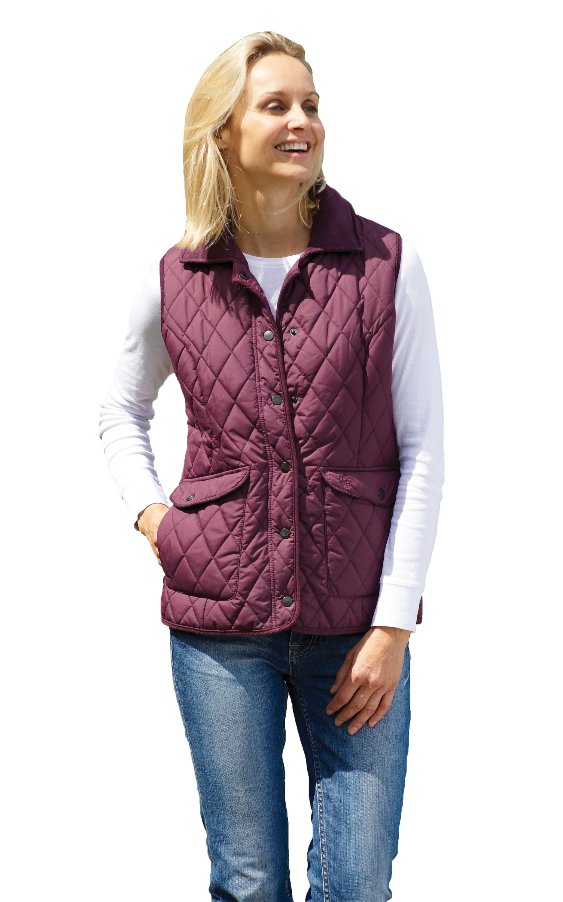 Ladies Champion Country Estate Quilted Gilet Bodywarmer Walking ... : ladies quilted riding jacket - Adamdwight.com