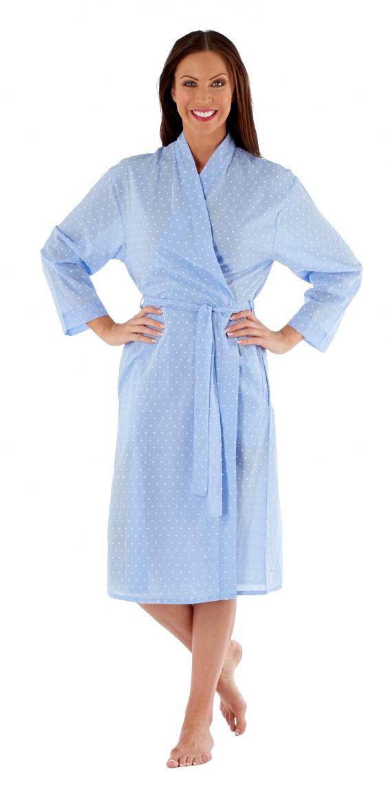 Inspirations Damen Amanda lang Sommer Kimono gewickelt BADEMANTEL ...