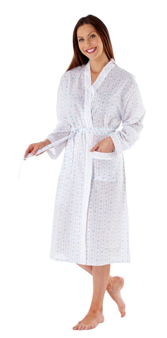 Lady Selena Women\'s Summer Kimono Bath Robe Dressing Gown Wrap ...