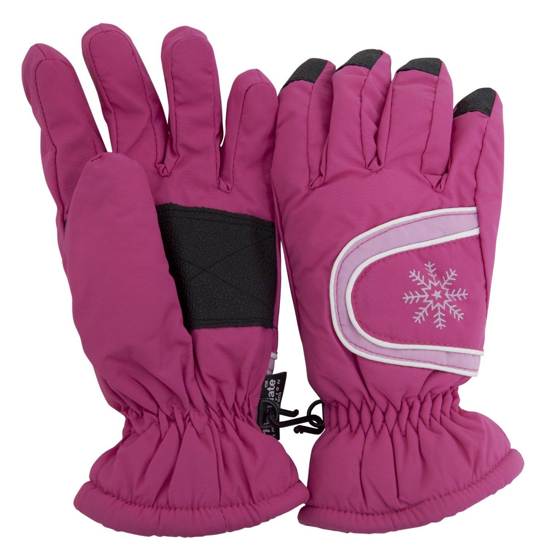 Ladies Womens Thermal Warm Waterproof Winter Ski Gloves