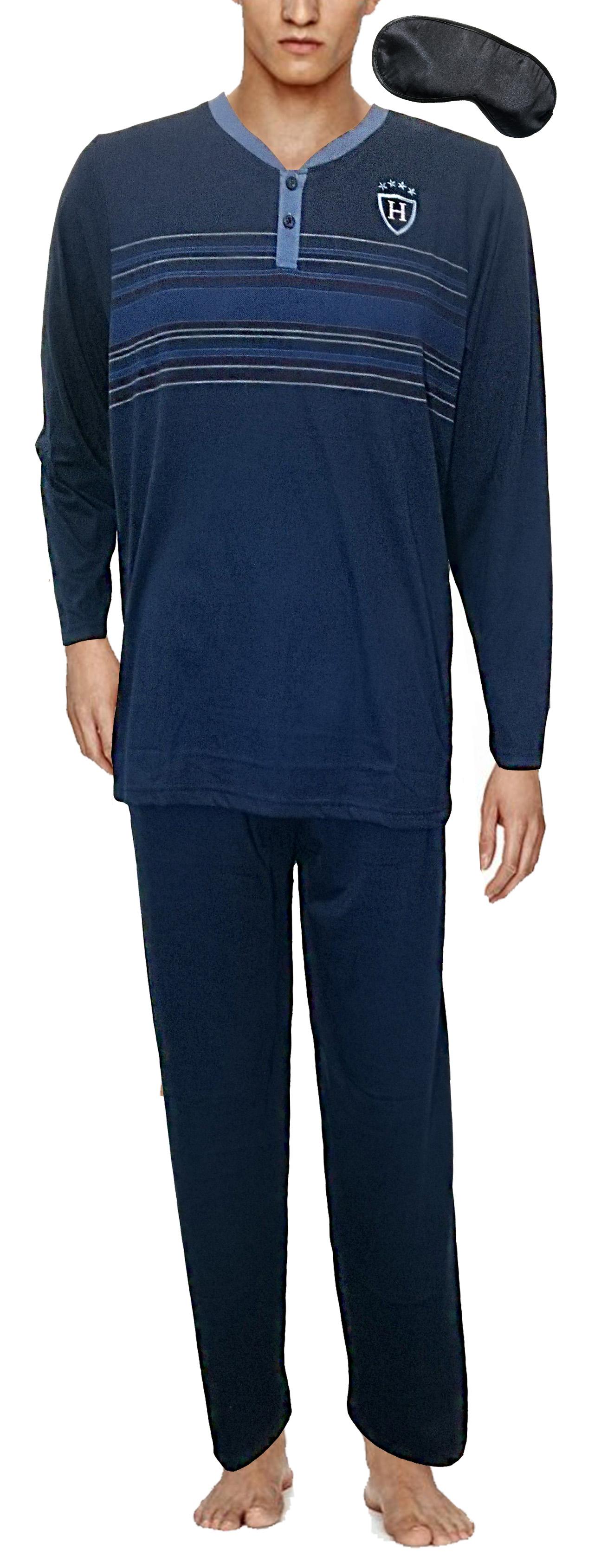 bc0f346b33 ... I-Smalls Men's Men's Men's Traditional Pattern Flannel Soft Cotton  Pyjama Set (M to ...