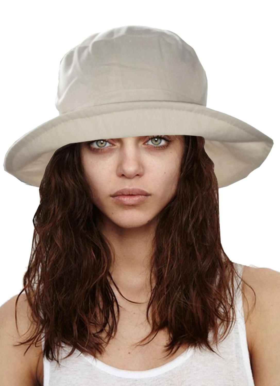 0062d4610c6 i-Smalls Women s Wide Brim Foldable UV Protection Summer Outdoor Beach Sun  Hat