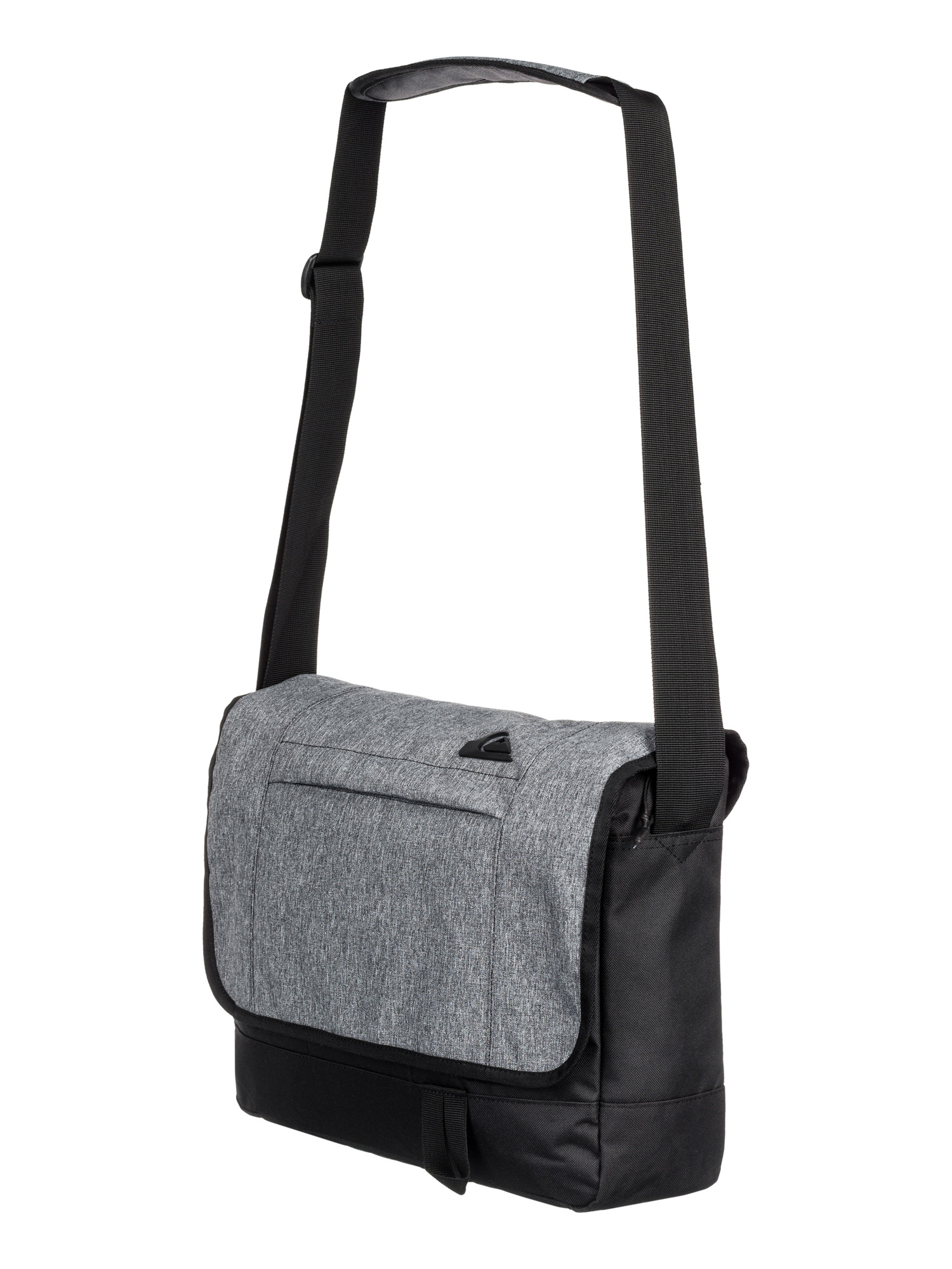 Quiksilver Mill Around Laptop Messenger Shoulder Bag Grey Eqyba03038 ...