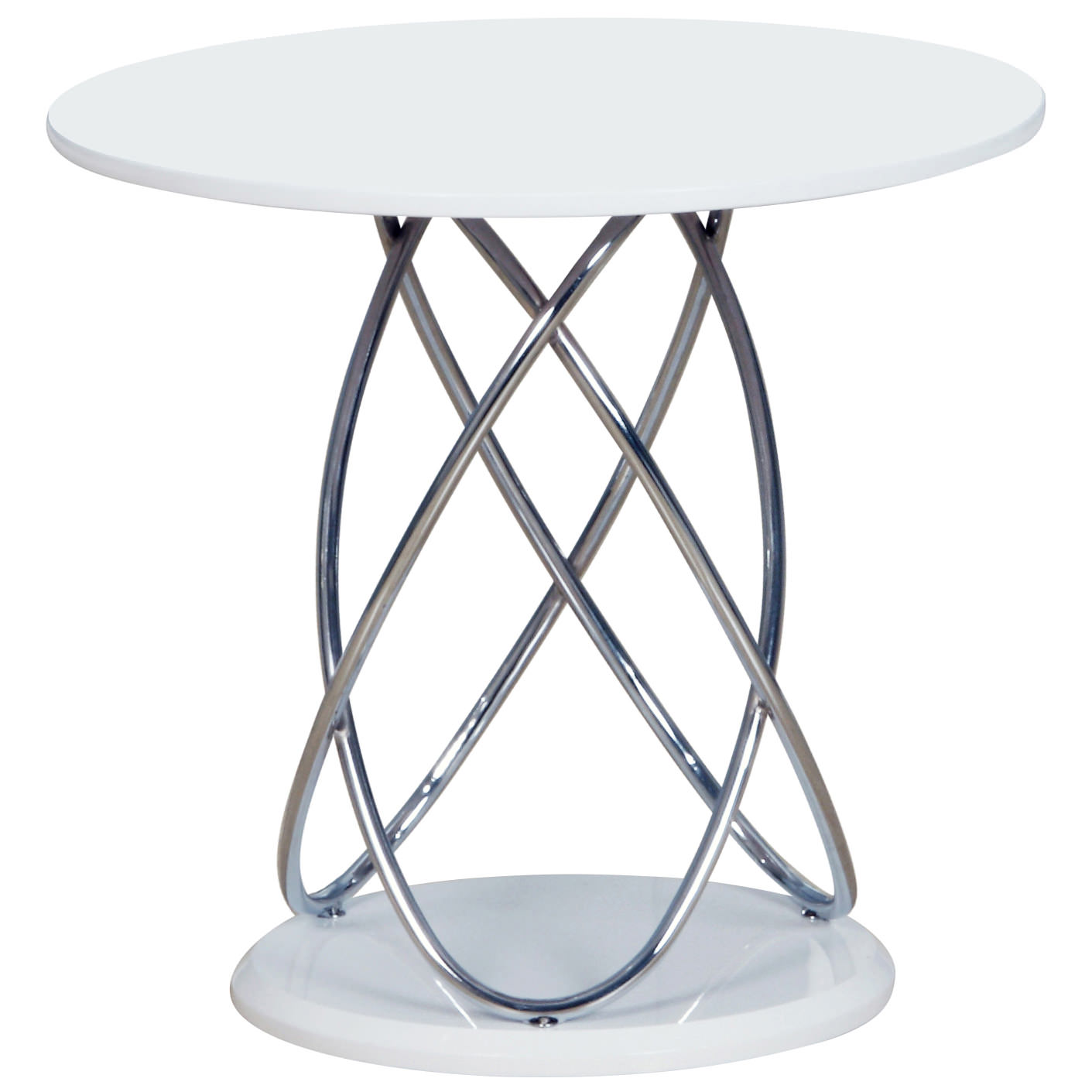 Glass Side End Lamp Coffee Table Lounge Low Occasional: Chrome & Glass End Lamp Small Side Coffee Table