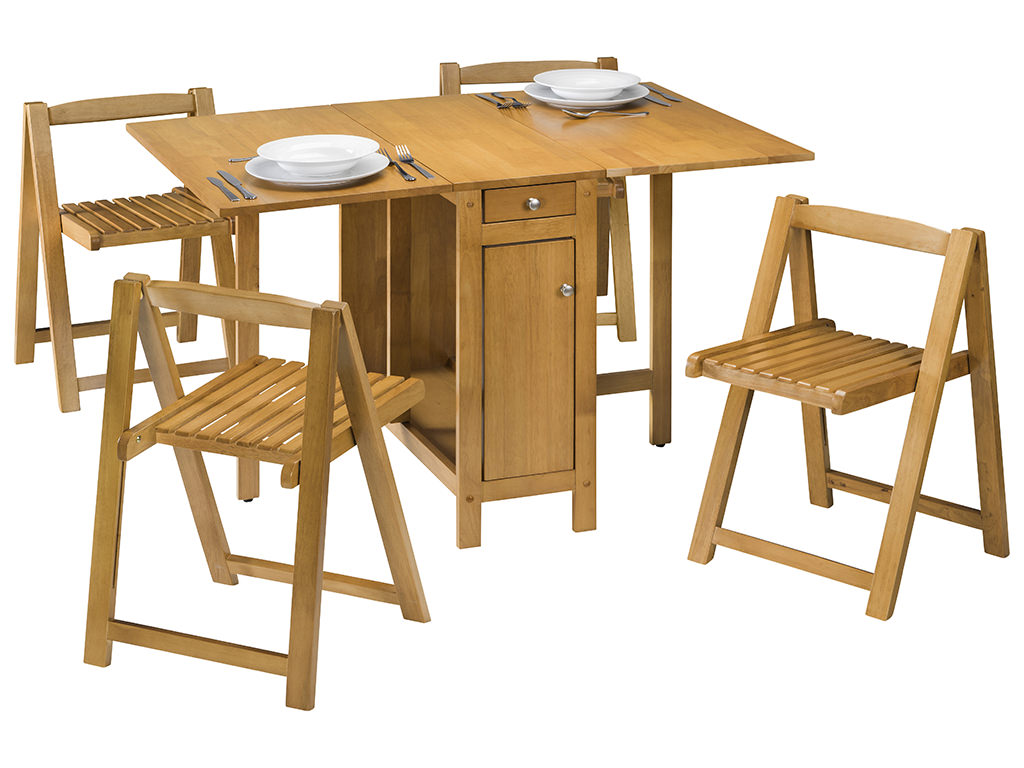 light oak finish extending butterfly dining table and. Black Bedroom Furniture Sets. Home Design Ideas